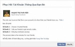 MẸO lấy lại mật khẩu facebook khi mất hoặc quên đơn giản