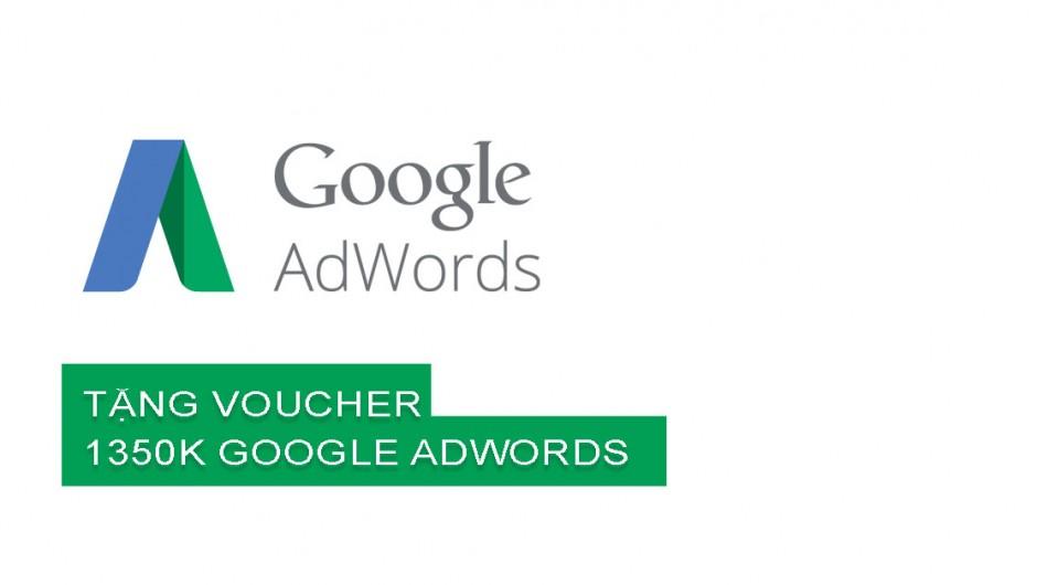 Chia sẻ sử dụng mã giảm giá và lấy coupon 1350k của google adword