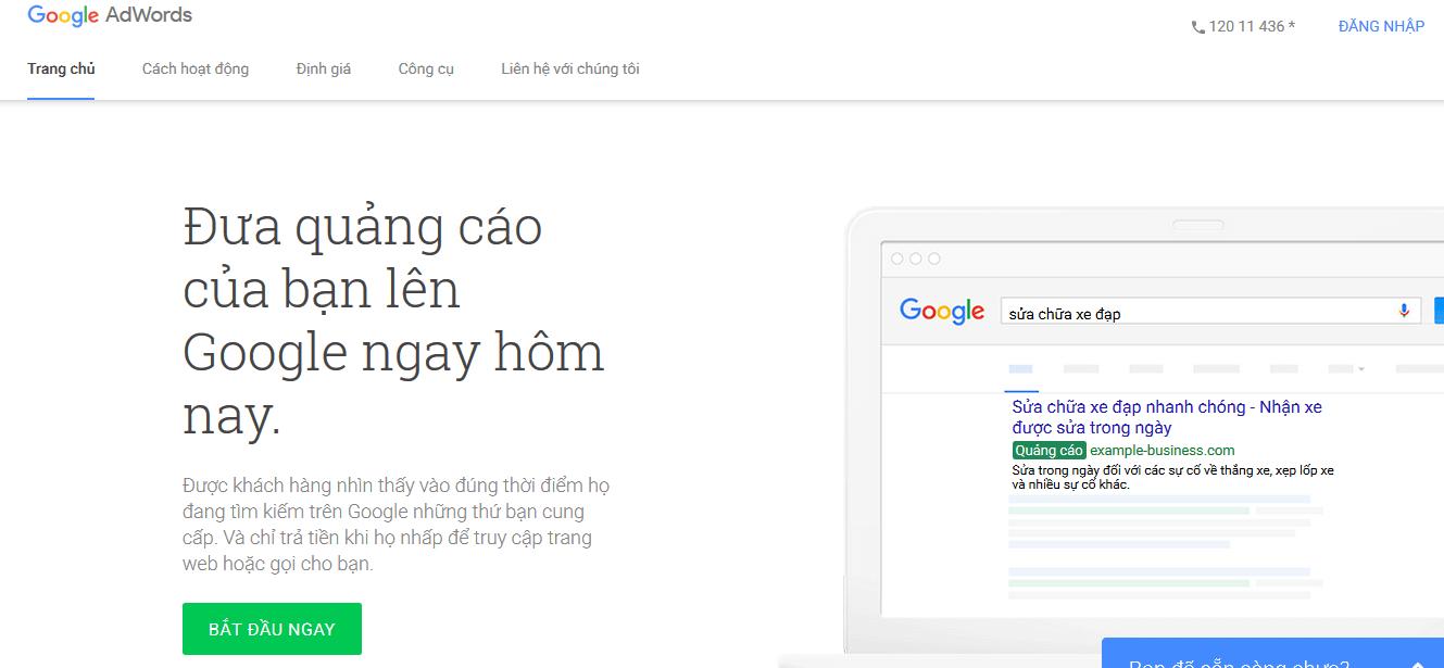 Cách quảng cáo website trên Google Việt Nam đơn giản nhanh chóng