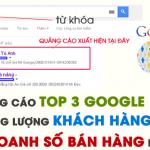 Dịch vụ chạy quảng cáo Google Adwords tại quận Hoàng Mai Giá rẻ
