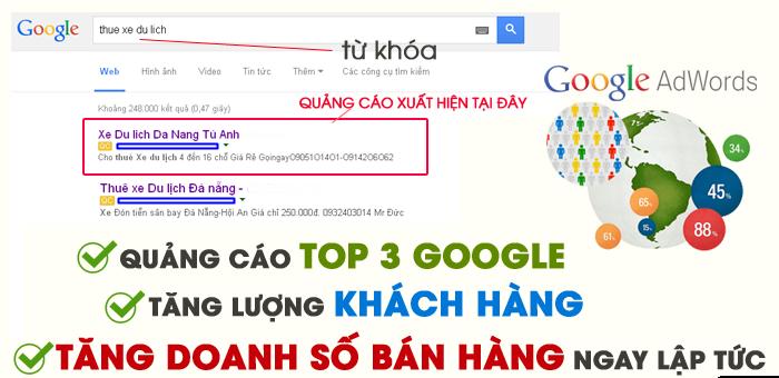 Quảng cáo Google Adwords tại Hai Bà Trưng Giá Rẻ - Uy Tín - Chuyên Nghiệp