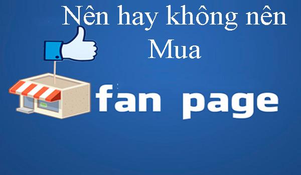 Bán fanpage Facebook kiếm tiền quảng cáo Facebook và bán hàng 1