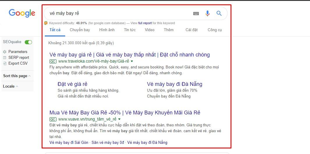 Dịch vụ chạy quảng cáo Google Adwords giá rẻ tại Hải Phòng 2