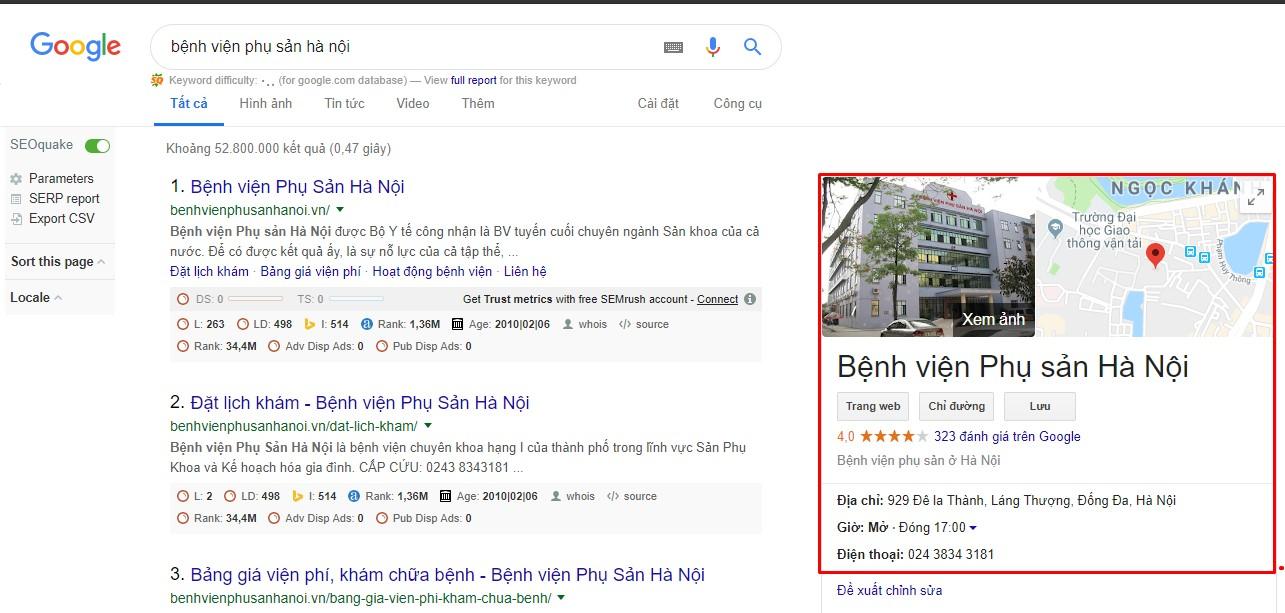 """Hướng dẫn cách đăng kí Google Maps cho doanh nghiệp """"Miễn Phí"""" 1"""