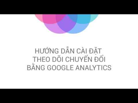 Cách cài đặt chuyển đổi trong Analytics để nhắm đúng mục tiêu