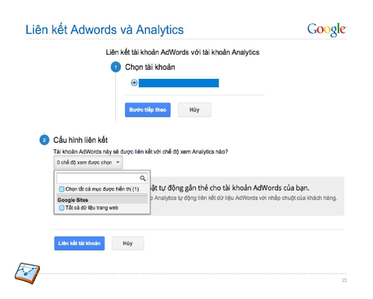 Liệu rằng liên kết Adwords và Analytics có tốt không?