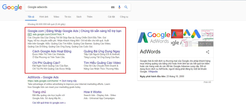 Tư vấn chạy quảng cáo Google Adword MIỄN PHÍ tiếp cận nhanh khách hàng