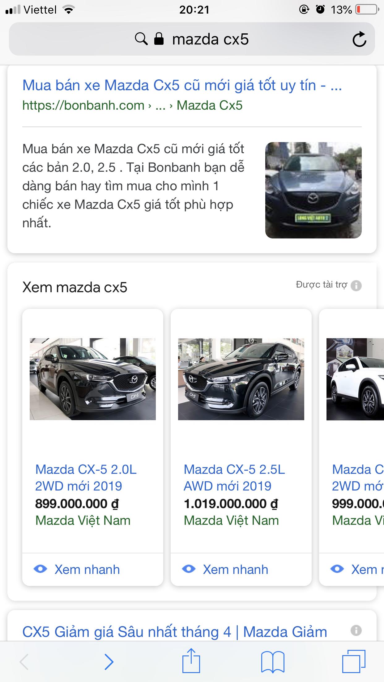 Chạy quảng cáo adwords cho ngành mua bán ô tô  Bứt phá doanh thu