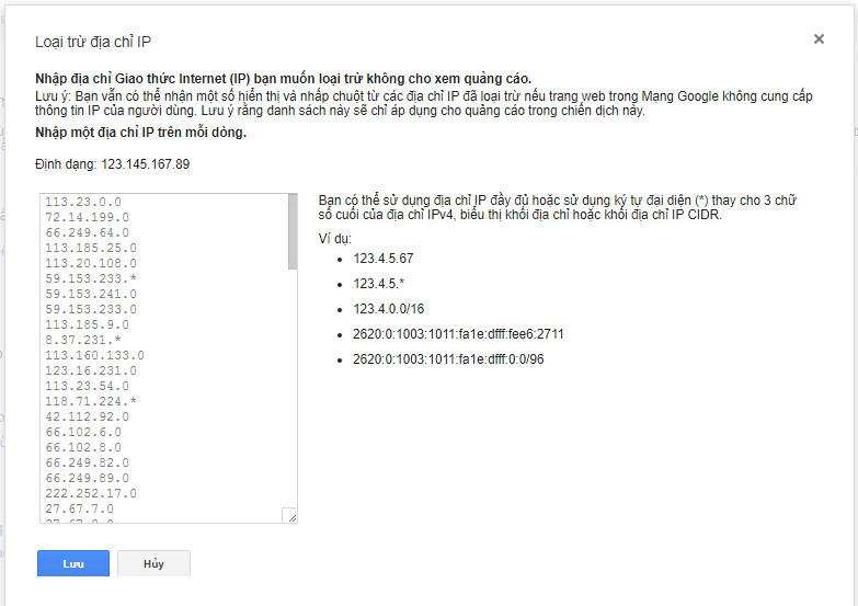 """MẸO hạn chế """"click tặc"""" trong quảng cáo Google Adwords hiệu quả 2"""
