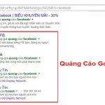 Vị trí hiển thị quảng cáo Google Adwords hiệu quả của một chiến dịch