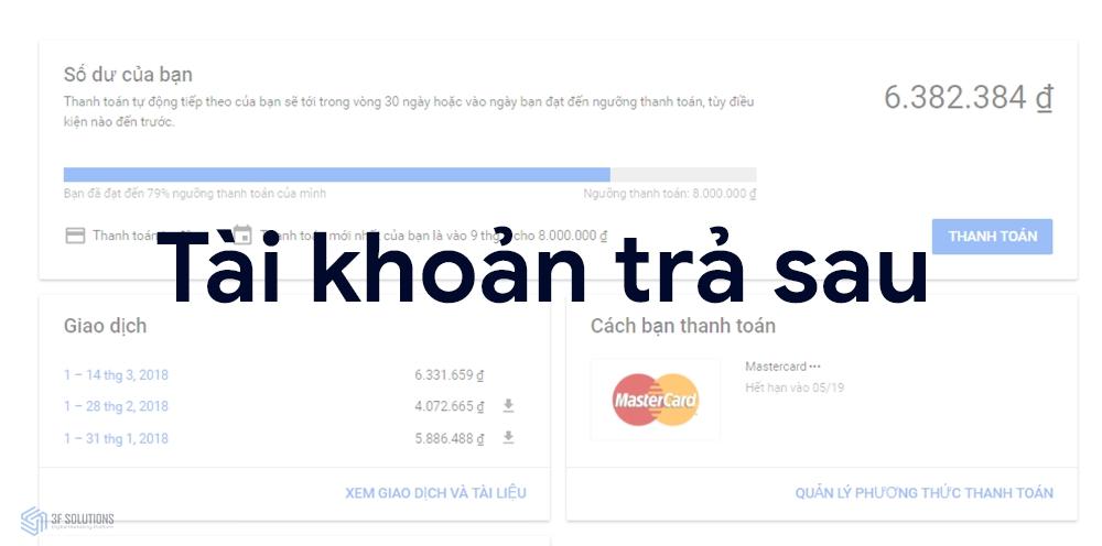 Có nên chọn phương thức thanh toán trả sau Google Ads khi chạy quảng cáo