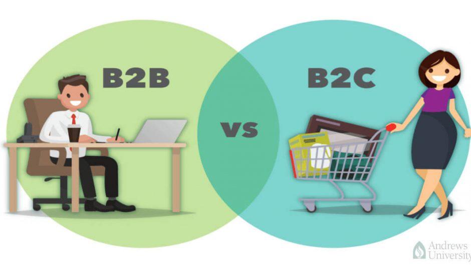 Ngành thương mại điện tử B2B và B2C là gì ?